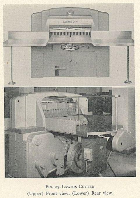 FIG. 25. LAWSON CUTTLER