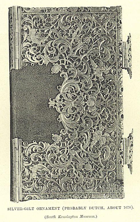 silver gilt ornament