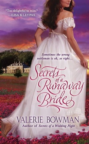 Guest Review: Secrets of a Runaway Bride by Valerie Bowman