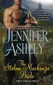 Review: The Stolen Mackenzie Bride by Jennifer Ashley