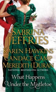 Guest Review: What Happens Under the Mistletoe by Sabrina Jeffries, Candace Camp, Karen Hawkins, Meredith Duran