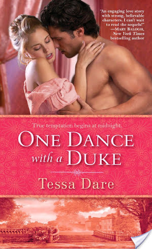 Review and a Giveaway: One Dance with a Duke by Tessa Dare