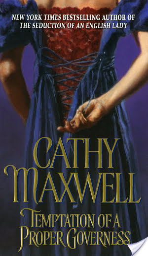 Review: Temptation of a Proper Governess by Cathy Maxwell