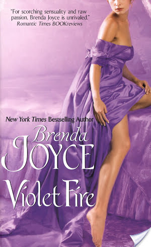 Review: Violet Fire by Brenda Joyce.