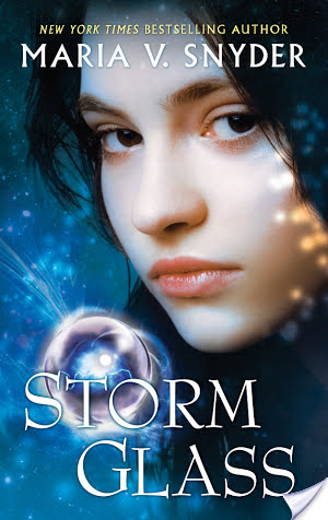Review: Storm Glass by Maria. V. Snyder