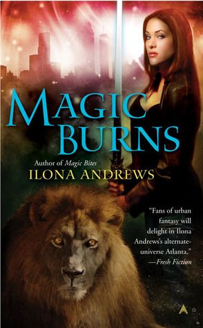 Featured Review: Magic Burns by Ilona Andrews