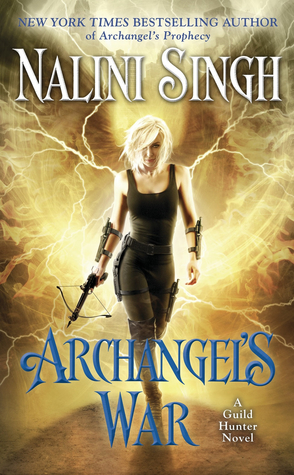 Archangel's War by Nalini Singh Book Cover