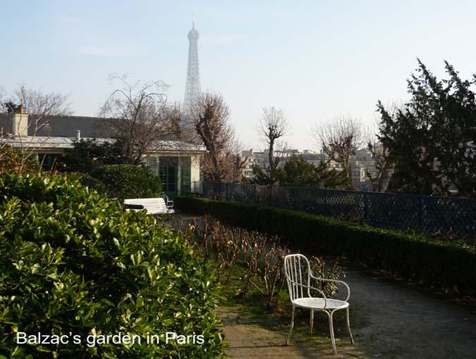 bookblast balzac's garden paris