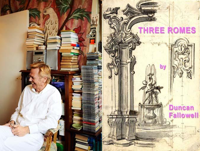 Interview, Proust's Questionnaire | Duncan Fallowell, author