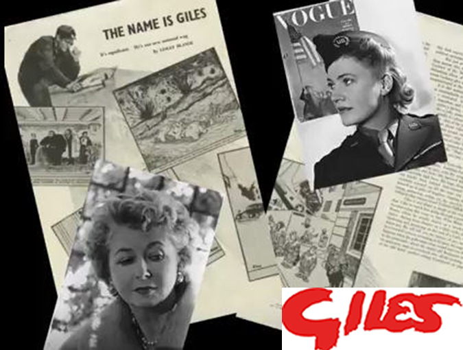 Lesley Blanch Archive | Giles: Friendship in a Time of War, British Vogue, 1944