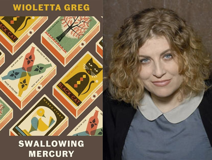 Review | Swallowing Mercury, Wioletta Greg | Portobello Books