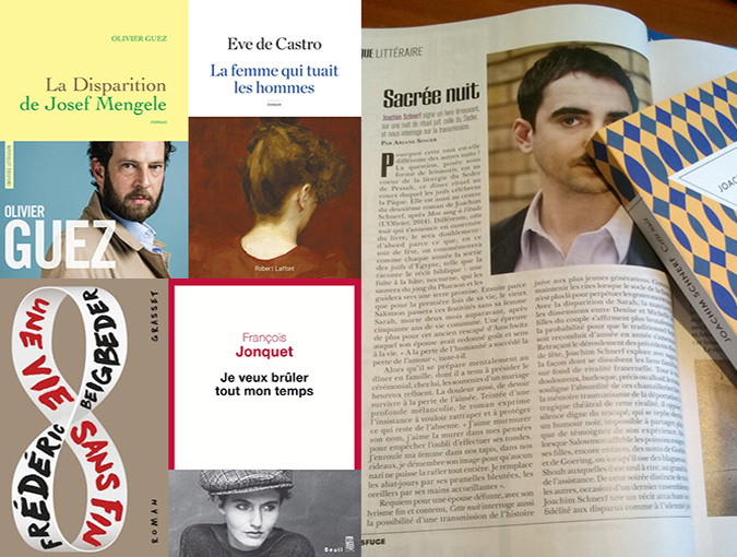 BookBlast® France | Top 5 French Reads January, 2018