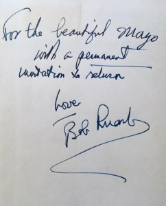 robert ruark dedicace gael elton mayo bookblast diary