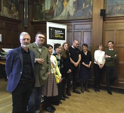 neil griffiths small press prize 2018 bookblast diary g de chamberet photo