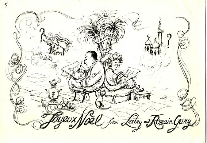 lesley blanch et son mari romain gary par lesley blanch