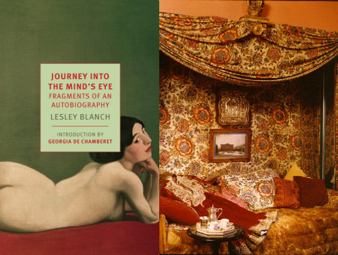 Media Release | New York Review of Books Classics 10-07-2018 | Journey into the Mind's Eye, Lesley Blanch
