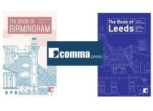 Comma Press BookBlast Diary 10x10 tour