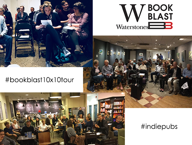 Latest News | The BookBlast 10×10 Tour in association with Waterstones