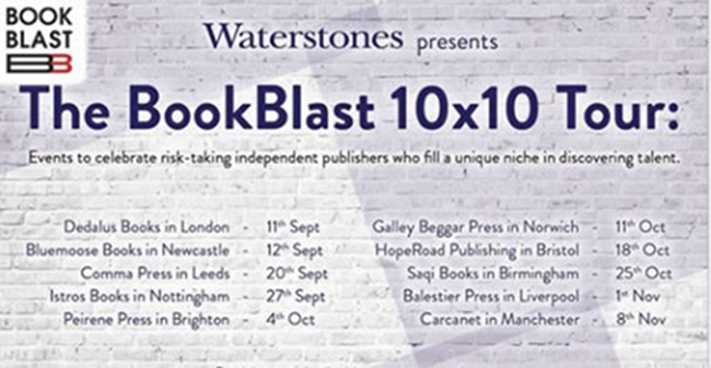 Latest News | It's a wrap! The BookBlast 10×10 Tour in association with Waterstones