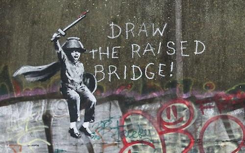 banksy_draw the raised bridge!