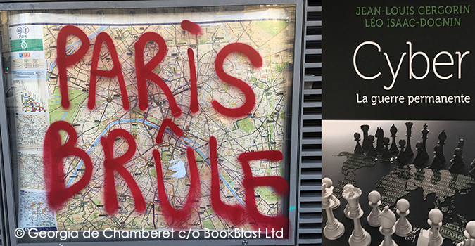 BookBlast® France  | Paris Burning, Paris Brûle, Georgia de Chamberet