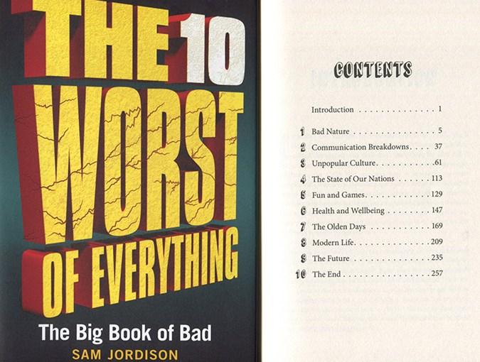 ten worst of everything samjordison bookblast diary review