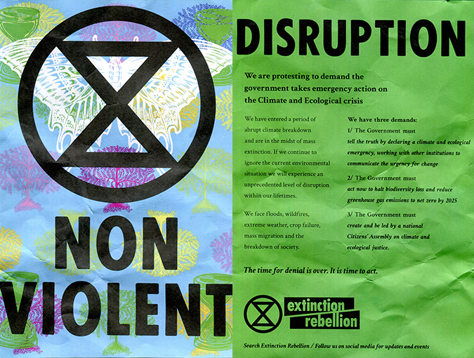 Podcast LIVE | Dom Goetz on Waterloo Bridge & Top 10 Reads | Extinction Rebellion