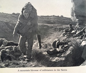 militiamen spanish civil war bookblast diary