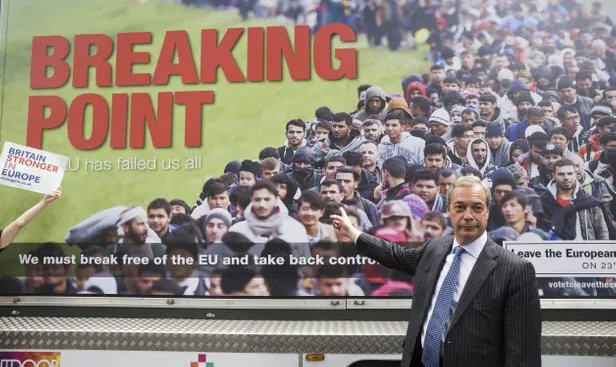 nigel farage ukip poster xenophobia