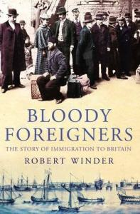bloody foreigners robert winder cover