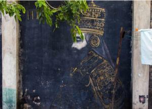 haile selassie mural islandoutpost com