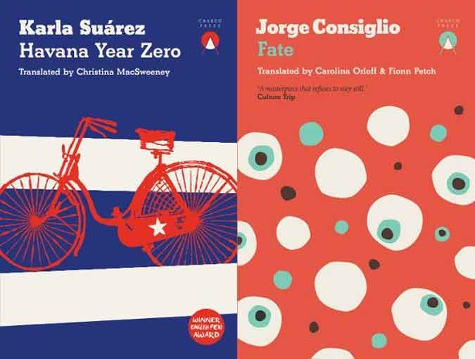 Book 2 Review | Andrew McDougall | Havana Year Zero, Karla Suárez & Fate, Jorge Consiglio | Charco Press