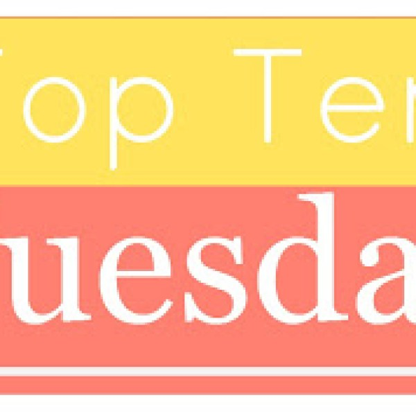 Top Ten Tuesday #18: Paranormal/Fantasy YA Books I Can't Believe I Haven't Read Yet