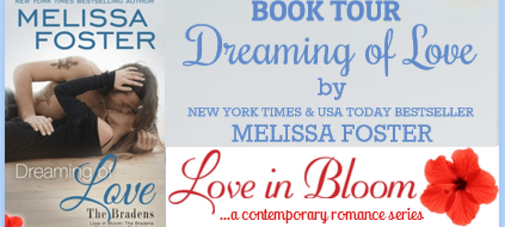 BOOK TOUR – Dreaming of Love
