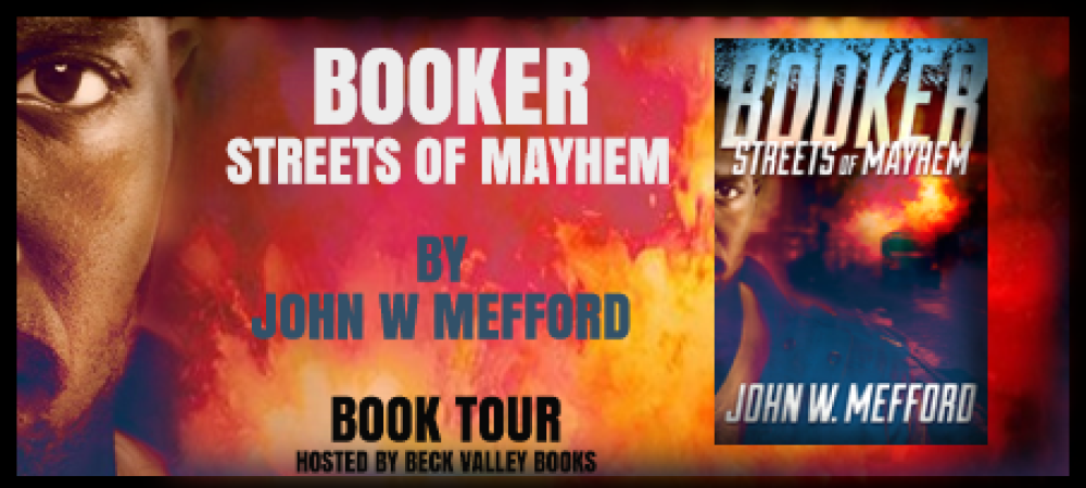 BOOK TOUR – BOOKER: Streets of Mayhem Campaign