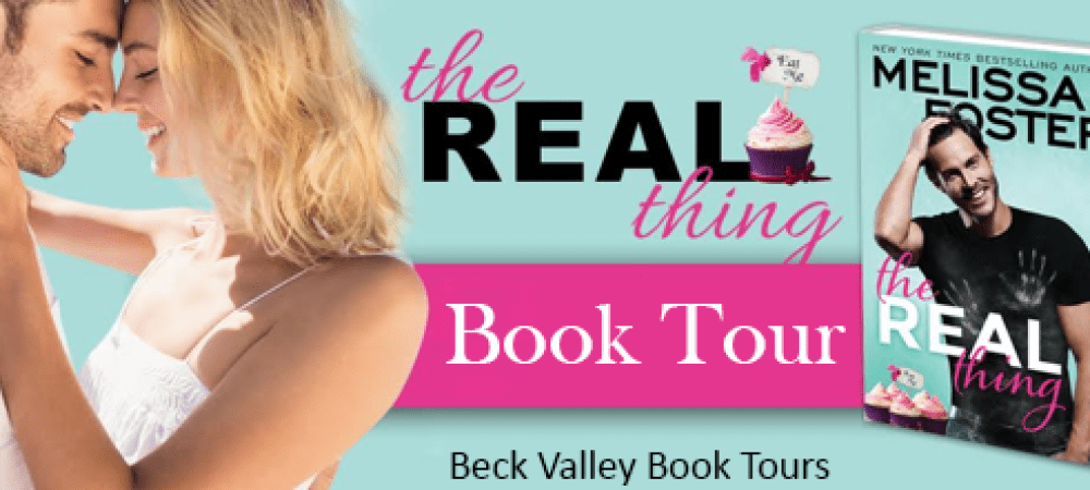 REVIEW TOUR: THE REAL THING by MELISSA FOSTER @Melissa_Foster