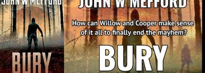 REVIEW TOUR: BURY by JOHN W. MEFFORD @JWMefford @beckvalleybooks   #Thriller #Mystery