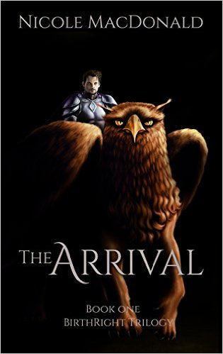 Book Cover: The Arrival byNicole MacDonald