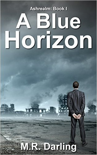Book Cover: A BLUE HORIZON by M.R. Darling