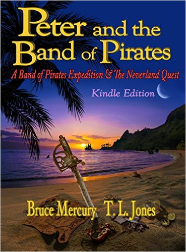 Book Cover: Peter And The Band Of Pirates by Bruce Mercury, TL Jones