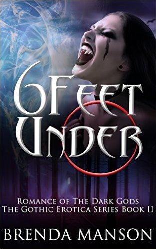 Book Cover: 6 FEET UNDER by Brenda Manson