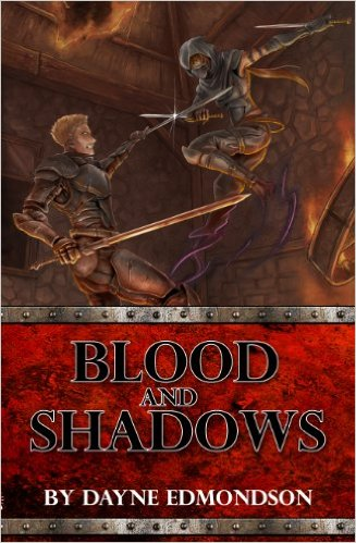 Book Cover: Blood and Shadows by Dayne Edmondson