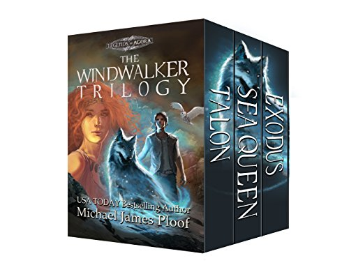 Book Cover: The Windwalker Trilogy by Michael James Ploof