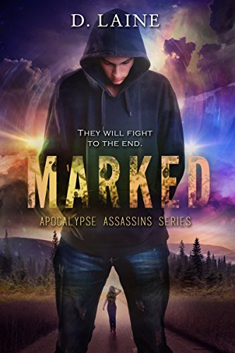 Book Cover: MARKED by D. Laine
