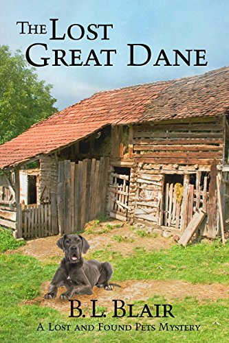 Book Cover: The Lost Great Dane by B. L. Blair