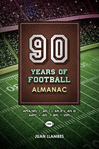 Book Cover: 90 Years of Football-Almanac by Juan Llambe