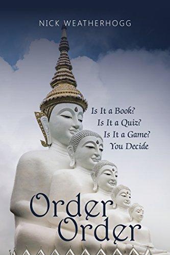 Book Cover: Order Order byNick Weatherhogg