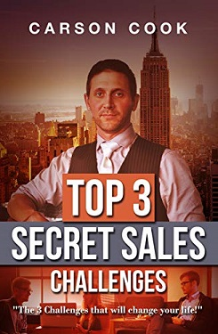 Top 3 Secret Sales Challenges by Carson Cook