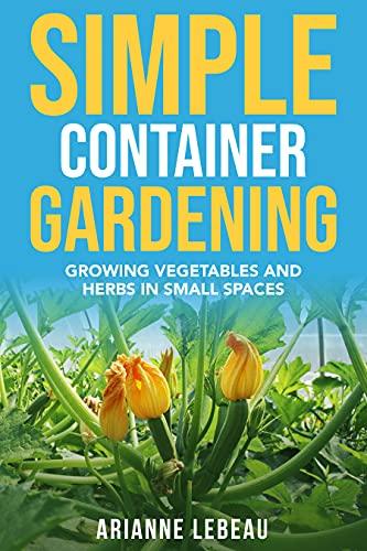 Simple container gardening