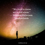 Quote from William Nicholson